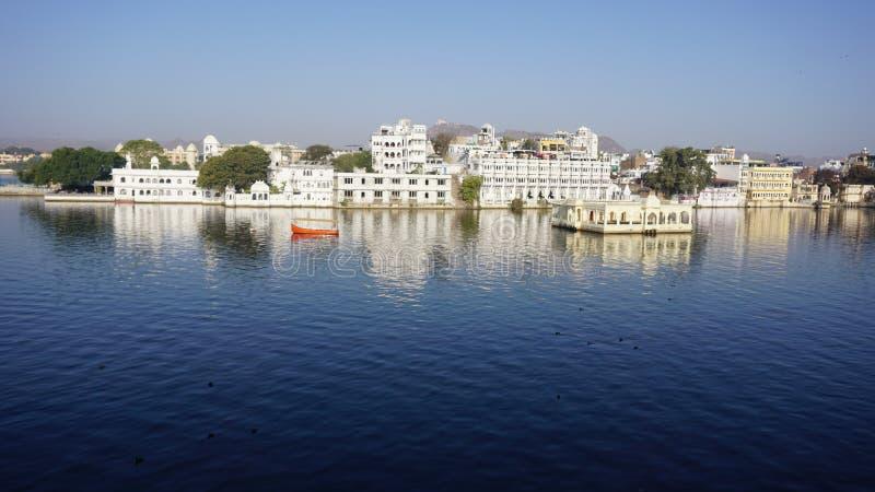Озеро Udaipur стоковая фотография rf