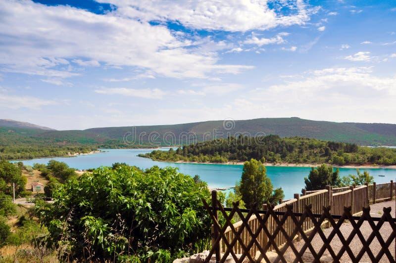 Озеро Verdon стоковое изображение