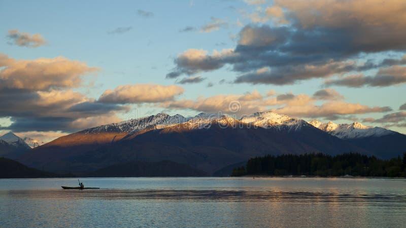 Озеро Wanaka стоковое изображение rf