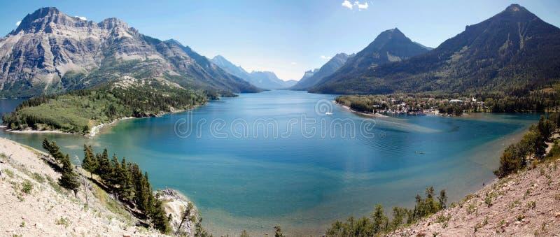Озеро Waterton стоковые изображения