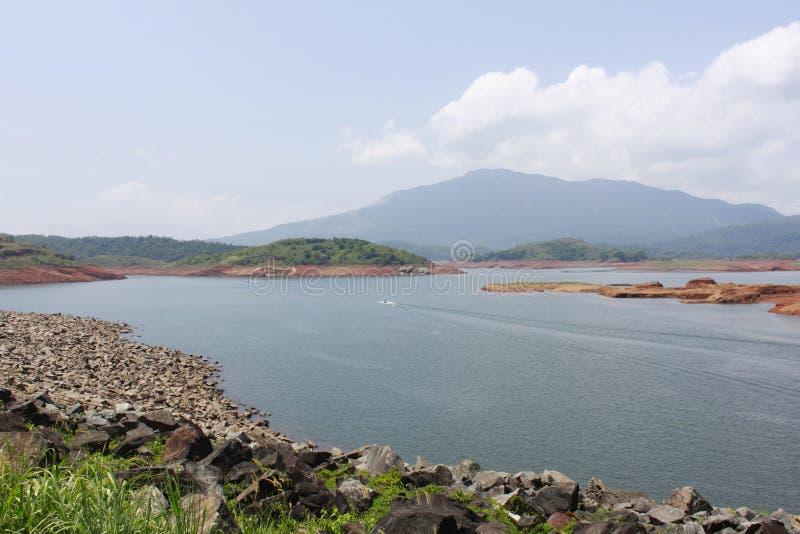 Озеро Wayanad Pookode, Керала стоковая фотография rf
