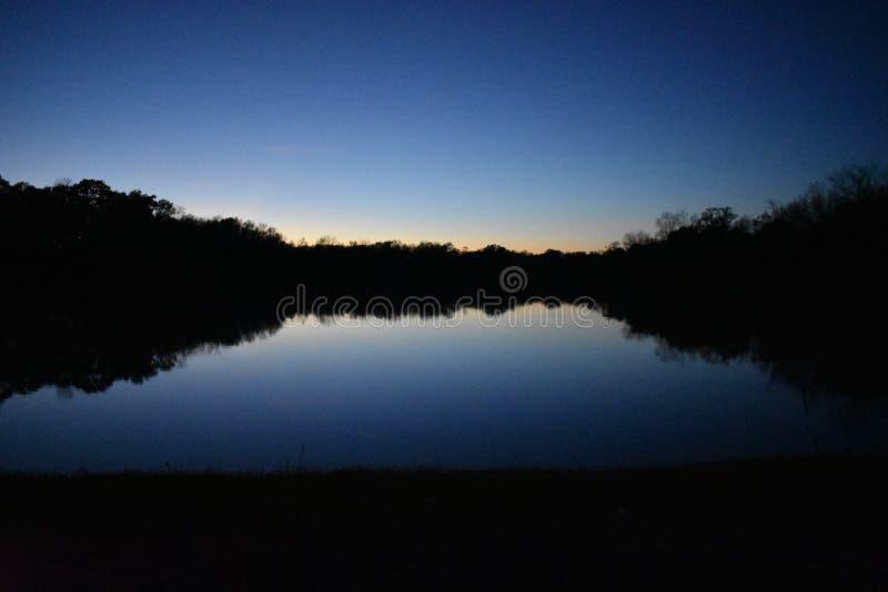 Озеро Winnsboro в восточном Техасе стоковые изображения