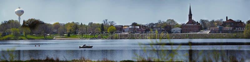 Озеро Winsted стоковые изображения