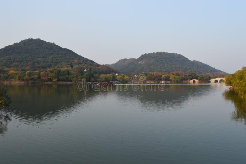 Озеро XiangHu стоковое фото