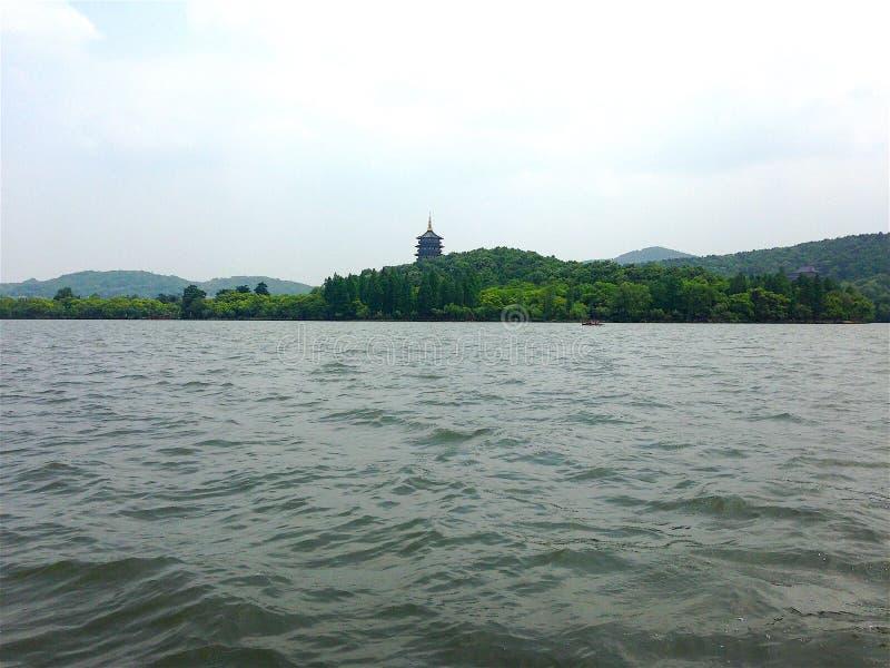 Озеро Xihu в Ханчжоу стоковые изображения rf