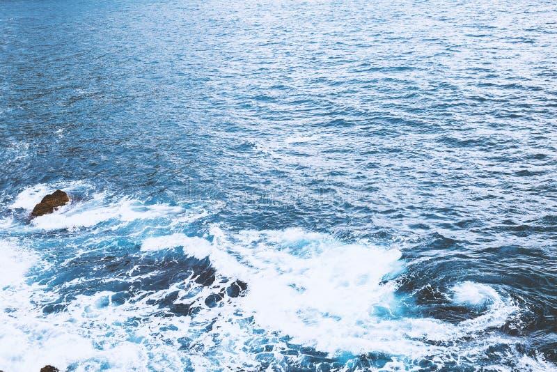 Океанская волна моря стоковые фото