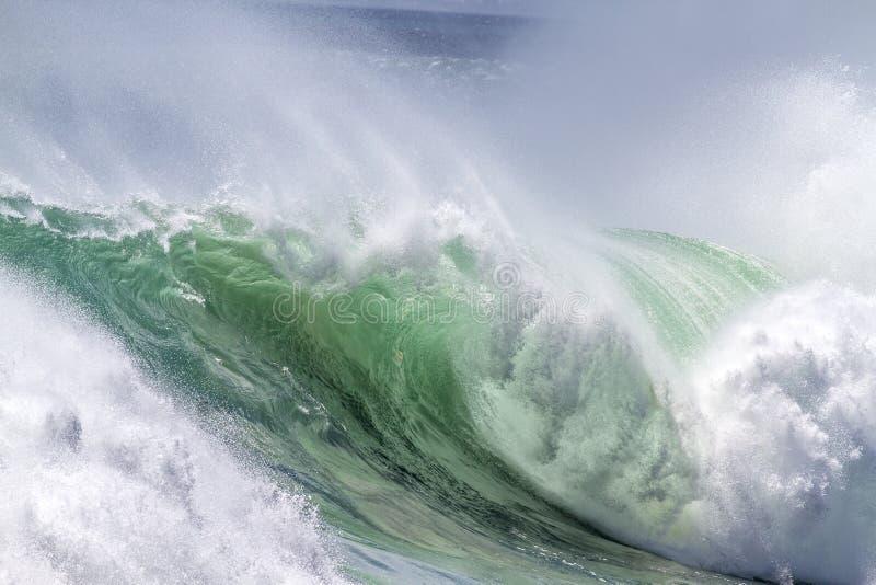 Океанская волна стоковое изображение rf