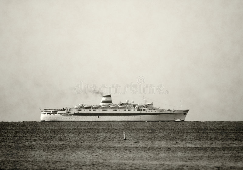 океан вкладыша ретро стоковое фото