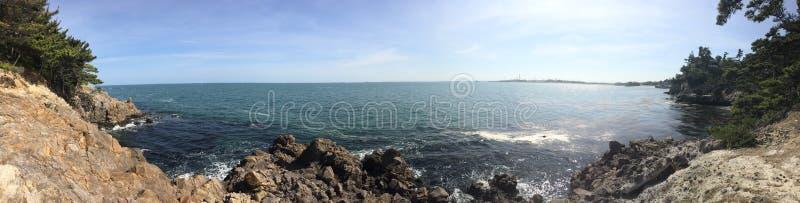 Океан в временени стоковое фото rf