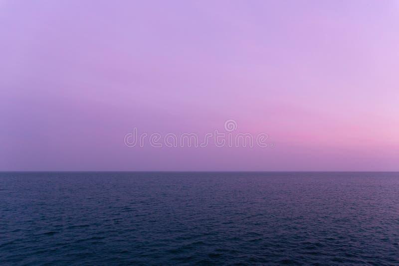 Океан в Santa Cruz Калифорнии стоковое фото rf