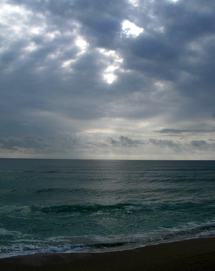 океан горизонта стоковая фотография