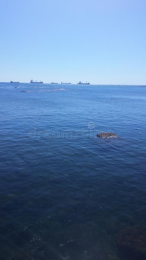 Океан и видит стоковое фото rf