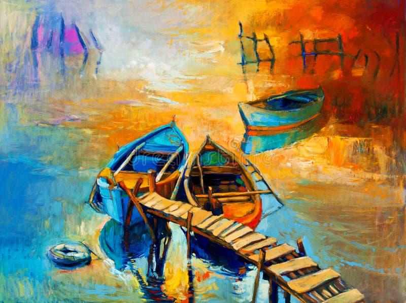 Океан и заход солнца бесплатная иллюстрация