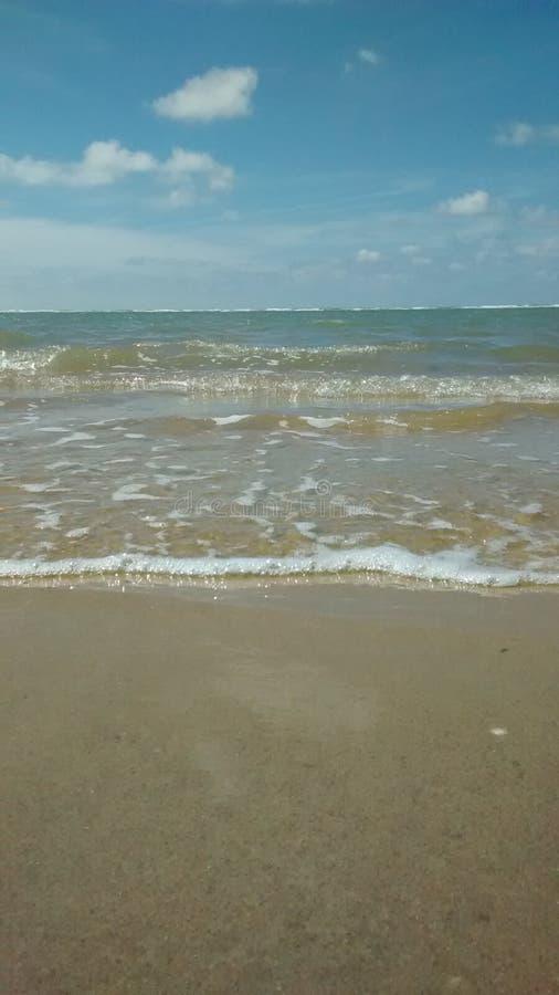Океан и небо 1 стоковое изображение