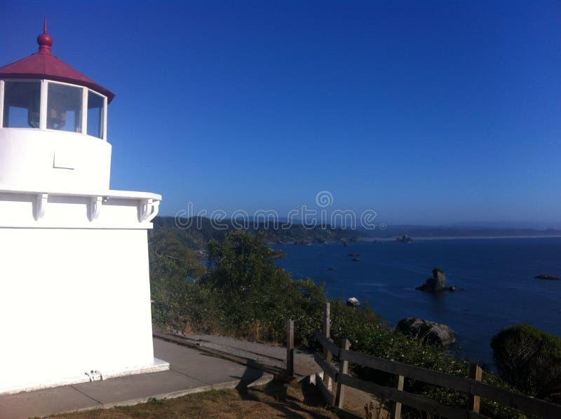 Океан маяка стоковое изображение