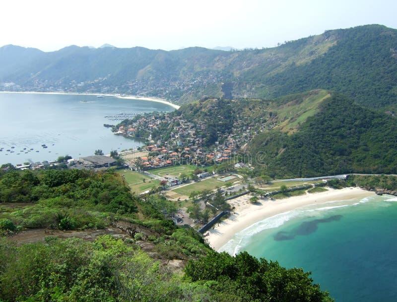 океан пляжа залива стоковая фотография rf