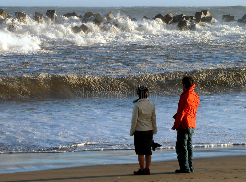океан пляжа стоковое фото rf