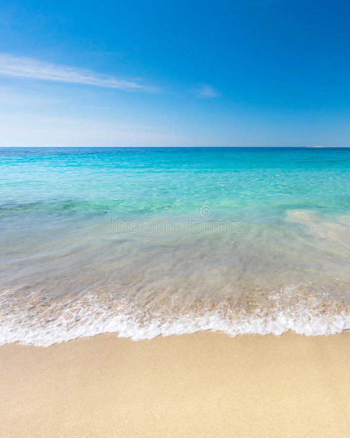 океан пляжа песочный стоковое фото rf