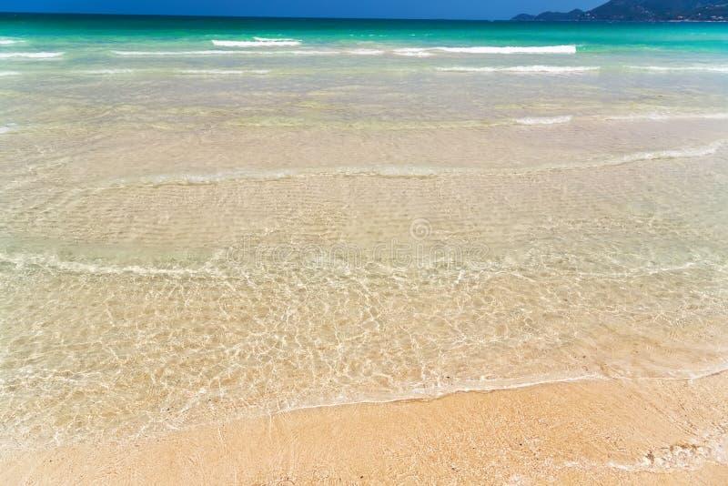 океан пляжа тропический стоковая фотография
