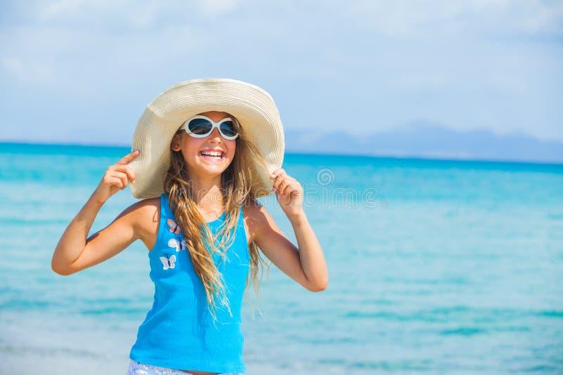 океан шлема девушки предпосылки большой ослабляет стоковое изображение rf
