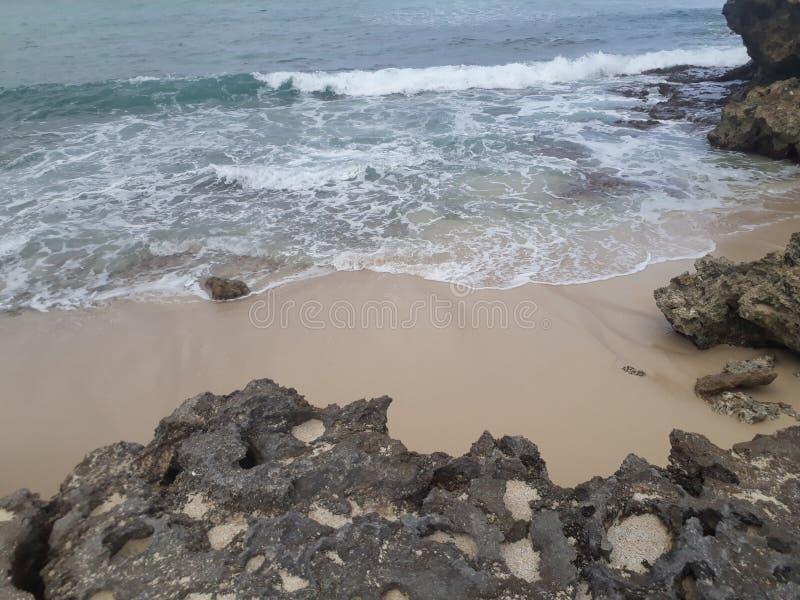 Океан & Montains стоковое фото