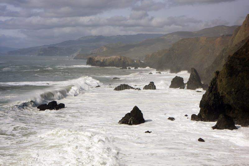 океан san francisco скал следующий к стоковое фото