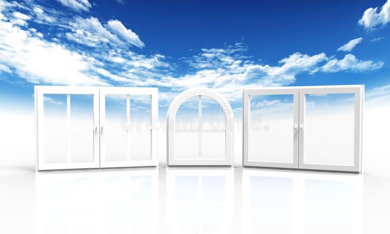 окна неба бесплатная иллюстрация