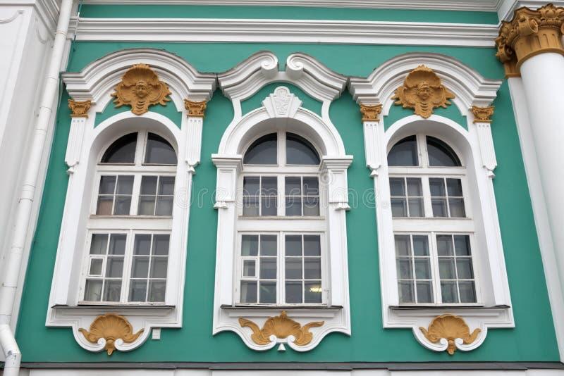 окна обители здания стоковые изображения