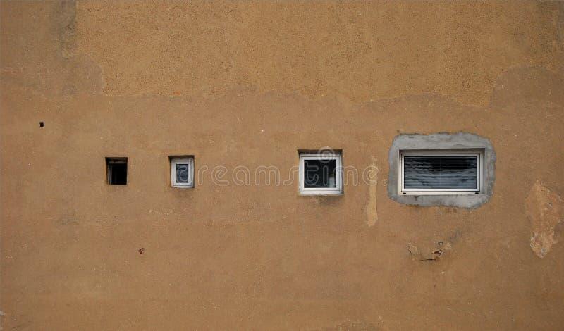 окна стены разнообразия стоковые изображения