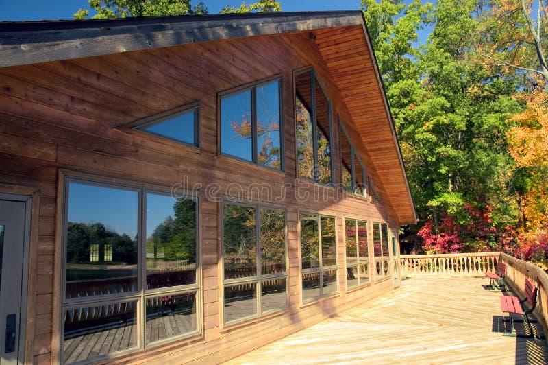 окна lodge стоковые фото