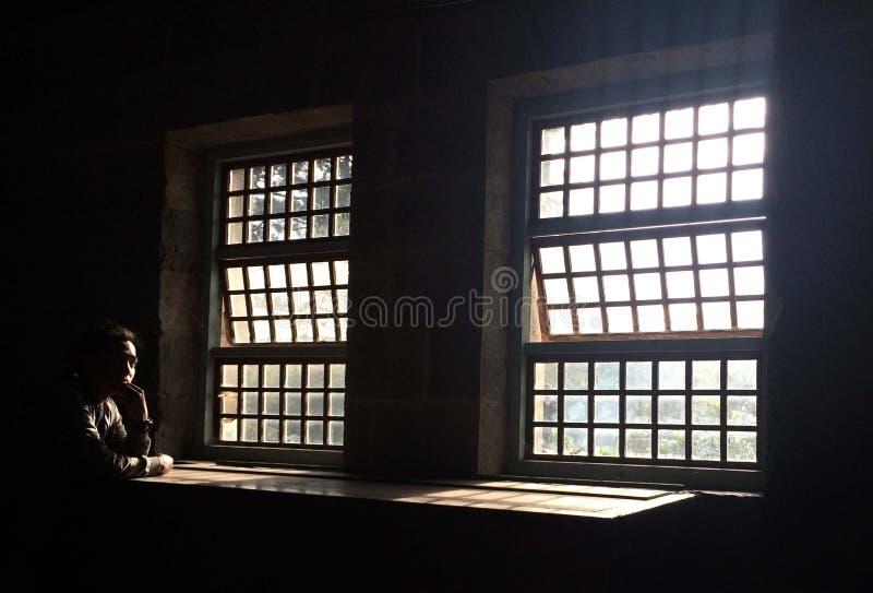 Окна Sagada старые стоковые изображения
