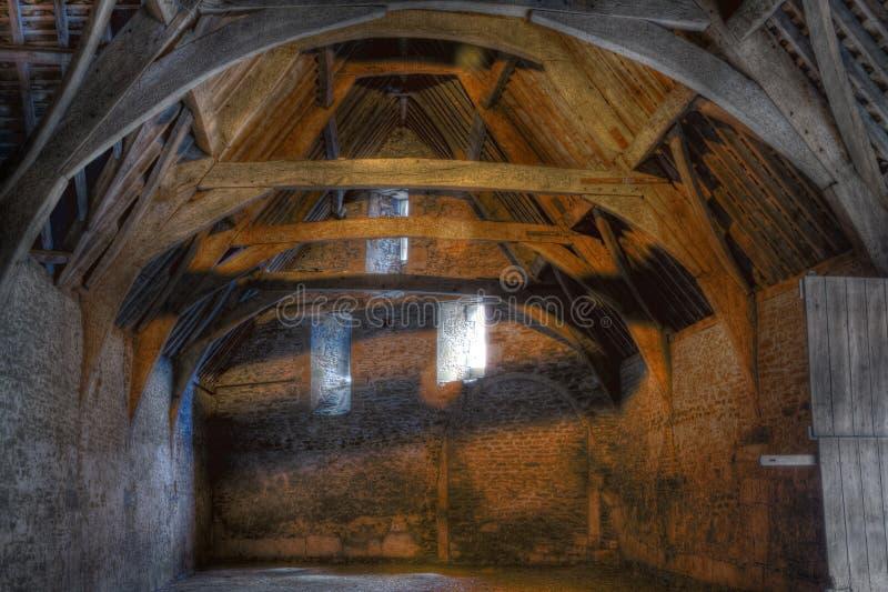 окна tithe амбара стоковое фото