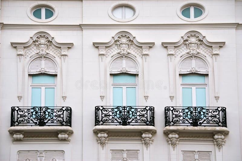 окна valencia стоковая фотография