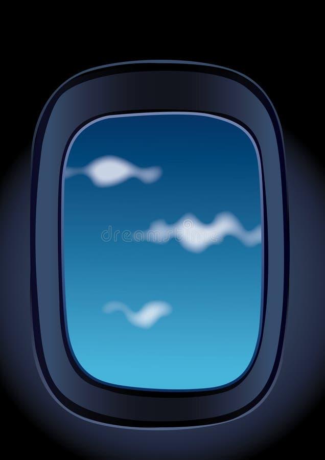 окно аэроплана бесплатная иллюстрация