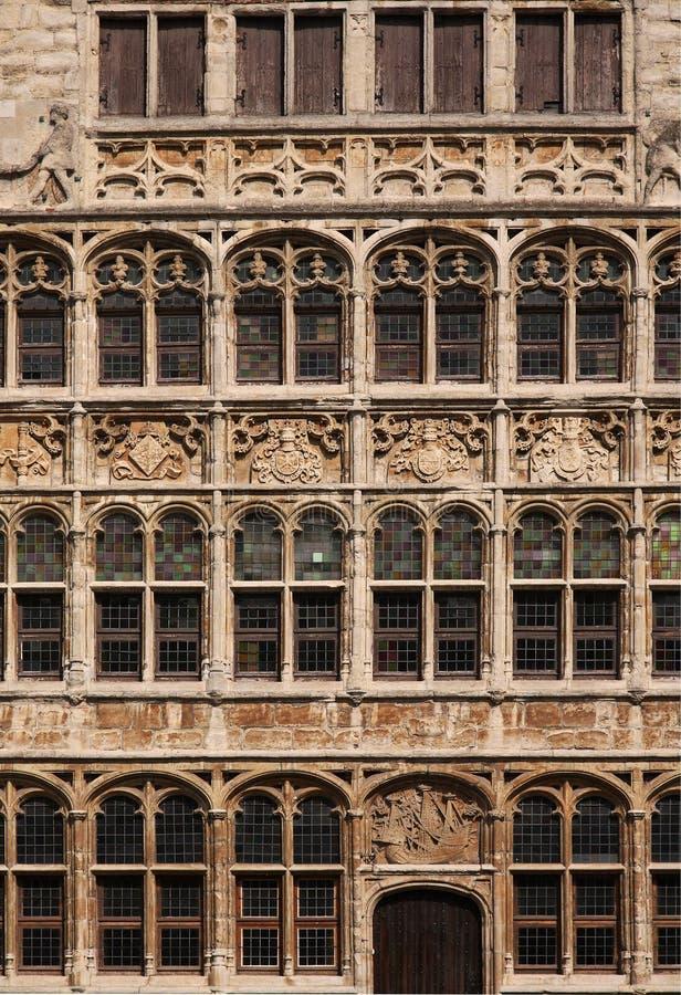 окно детали старое стоковое изображение rf