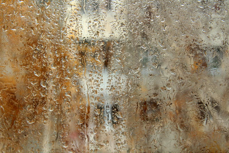 окно дождя стоковые фотографии rf