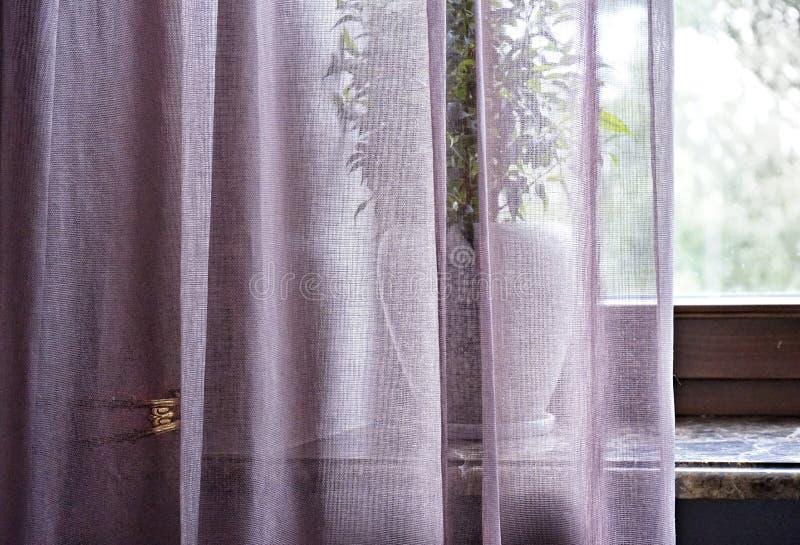окно задрапировывает домашние внутренние светлые детали стоковое фото rf