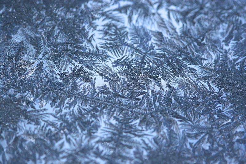 окно заморозка стоковая фотография rf