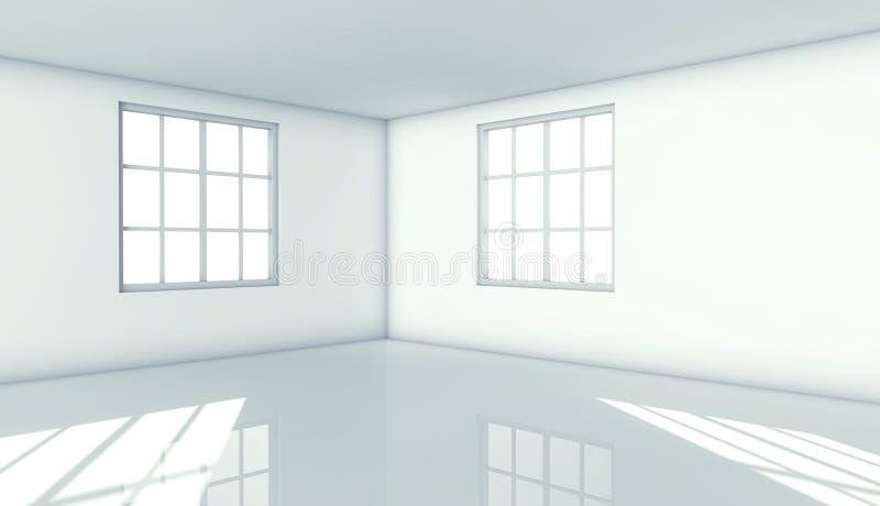 окно зодчества 3d нутряное самомоднейшее иллюстрация вектора