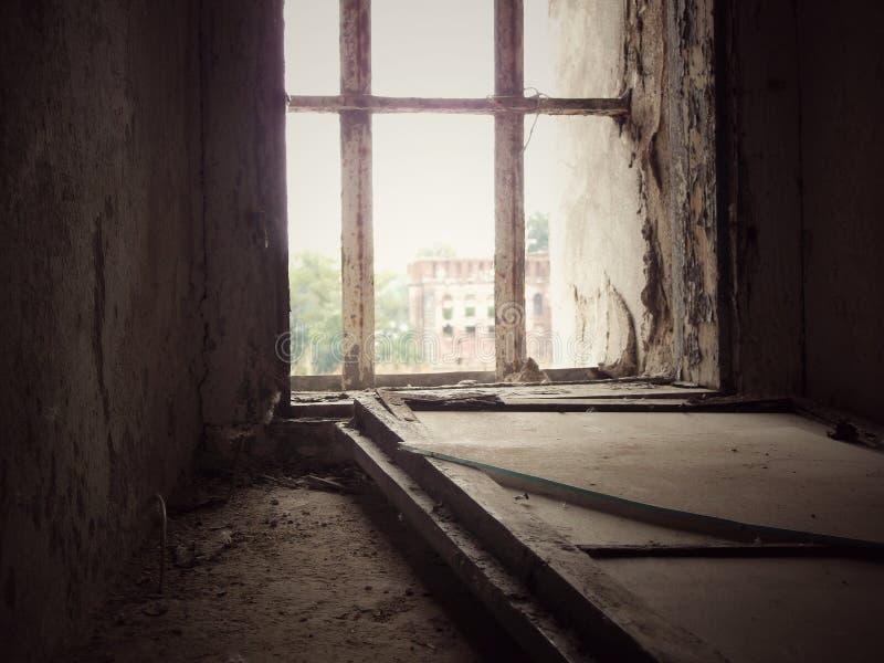 Окно к прошлым временам стоковые фотографии rf