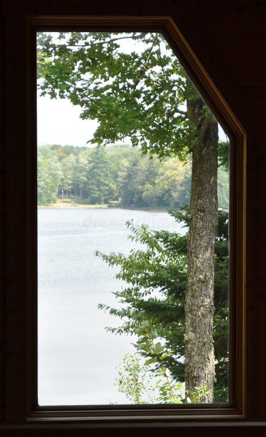 окно озера стоковое изображение