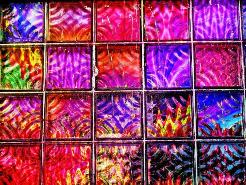 окно радуги стоковые изображения