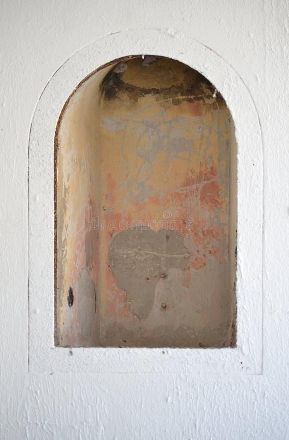 Окно старого форта стоковые изображения