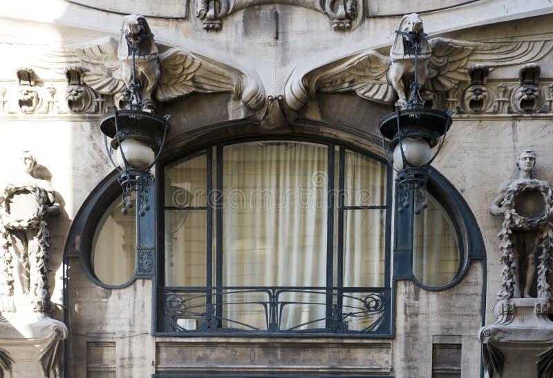 окно стиля Арт Деко стоковое фото