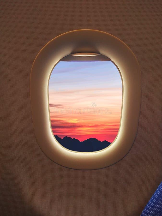 Окно счастья стоковое изображение