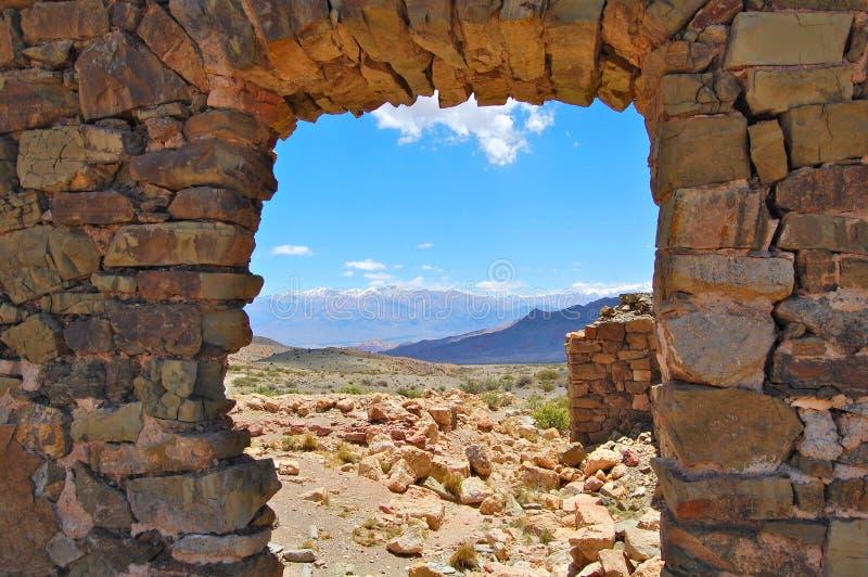 окно утеса стоковое изображение