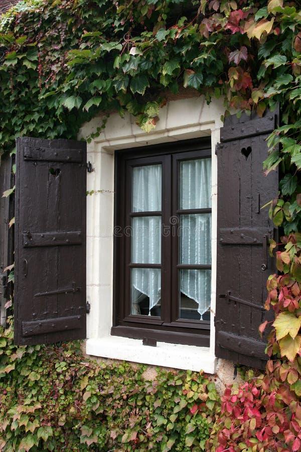 окно Франции стоковая фотография