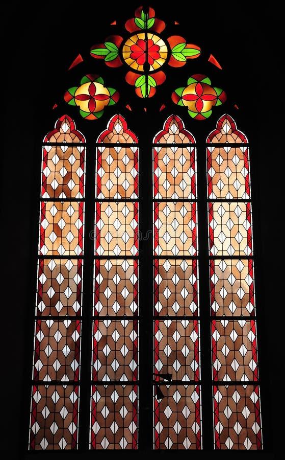 Окно цветного стекла стоковая фотография