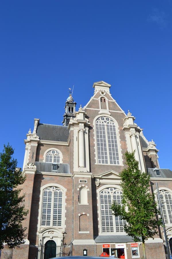 Окно церков в Амстердаме стоковая фотография rf