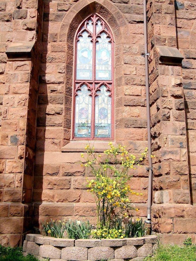 Окно 2010 церков места Вашингтона Luther мемориальное стоковая фотография